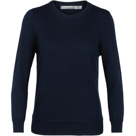 Icebreaker Muster Crewe Sweater Women midnight navy